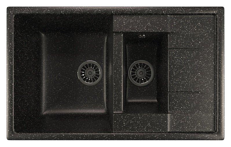 Мойка кухонная Mixline ML-GM22 бежевый купить смеситель для душевого бокса