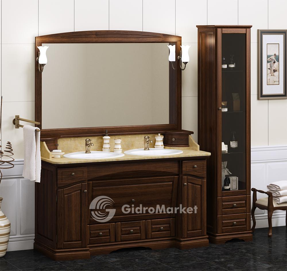 мебель для ванной опадирис из массива дерева лучия 150 купить в
