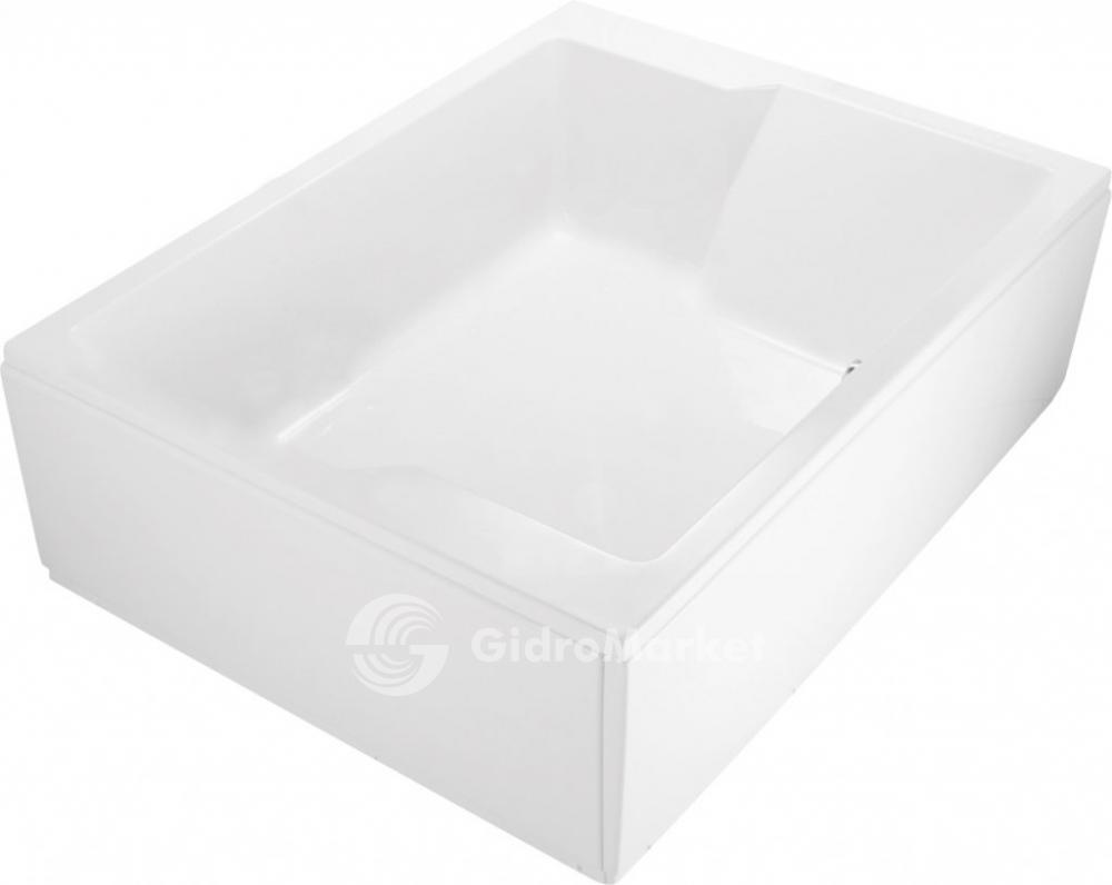 Боковая панель для акриловой ванны, левосторонняя PLANE_DUO-145-SP-L, 145x5x51 Смеситель Zenta Elika Z1601 для кухонной мойки